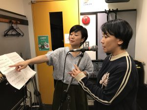ボーカル教室 ボイトレ風景