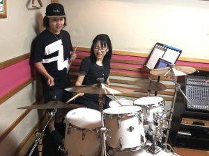 ドラム教室_レッスン風景