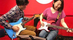 高田馬場LiveArtギター教室 レッスン風景