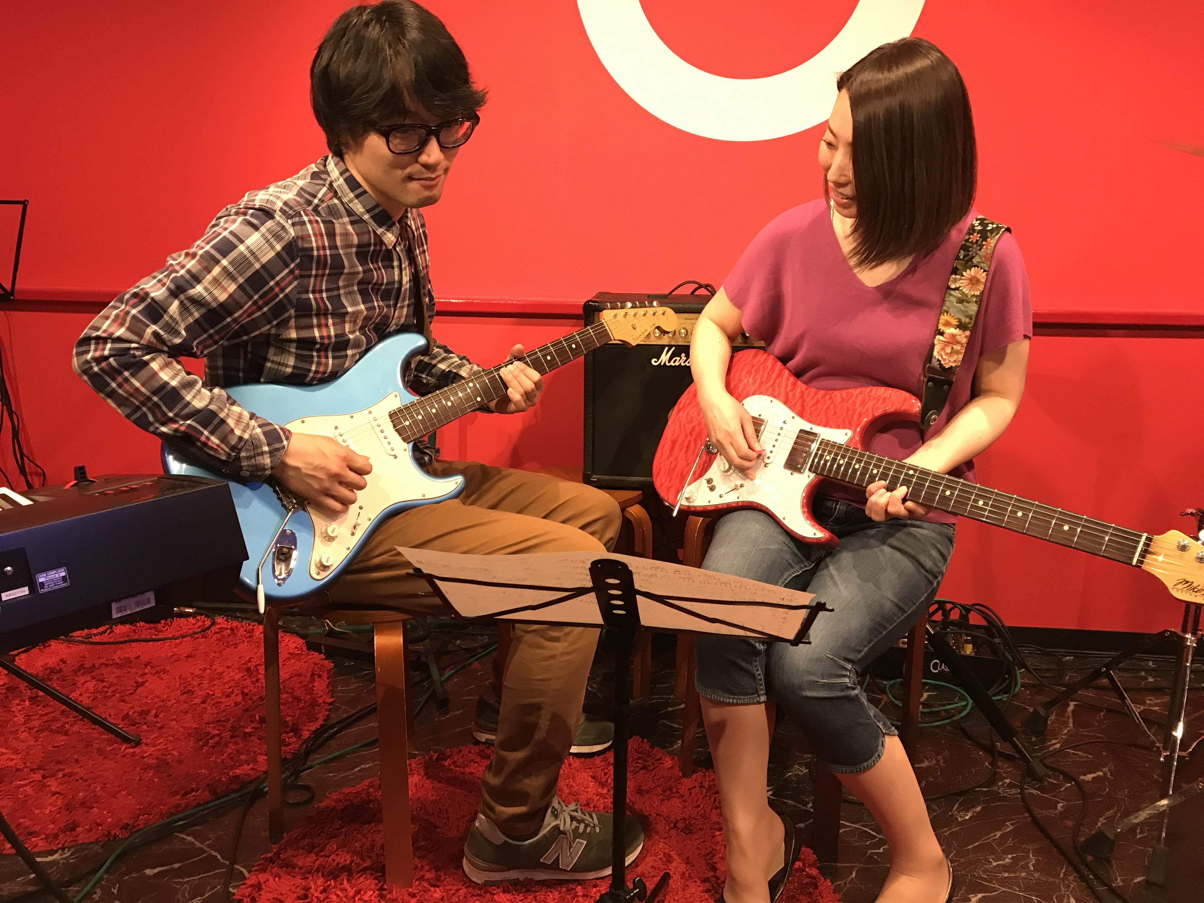 ギター教室 レッスン風景