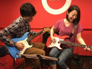田端ギター教室 レッスン風景