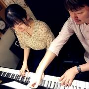 ピアノレッスン風景3