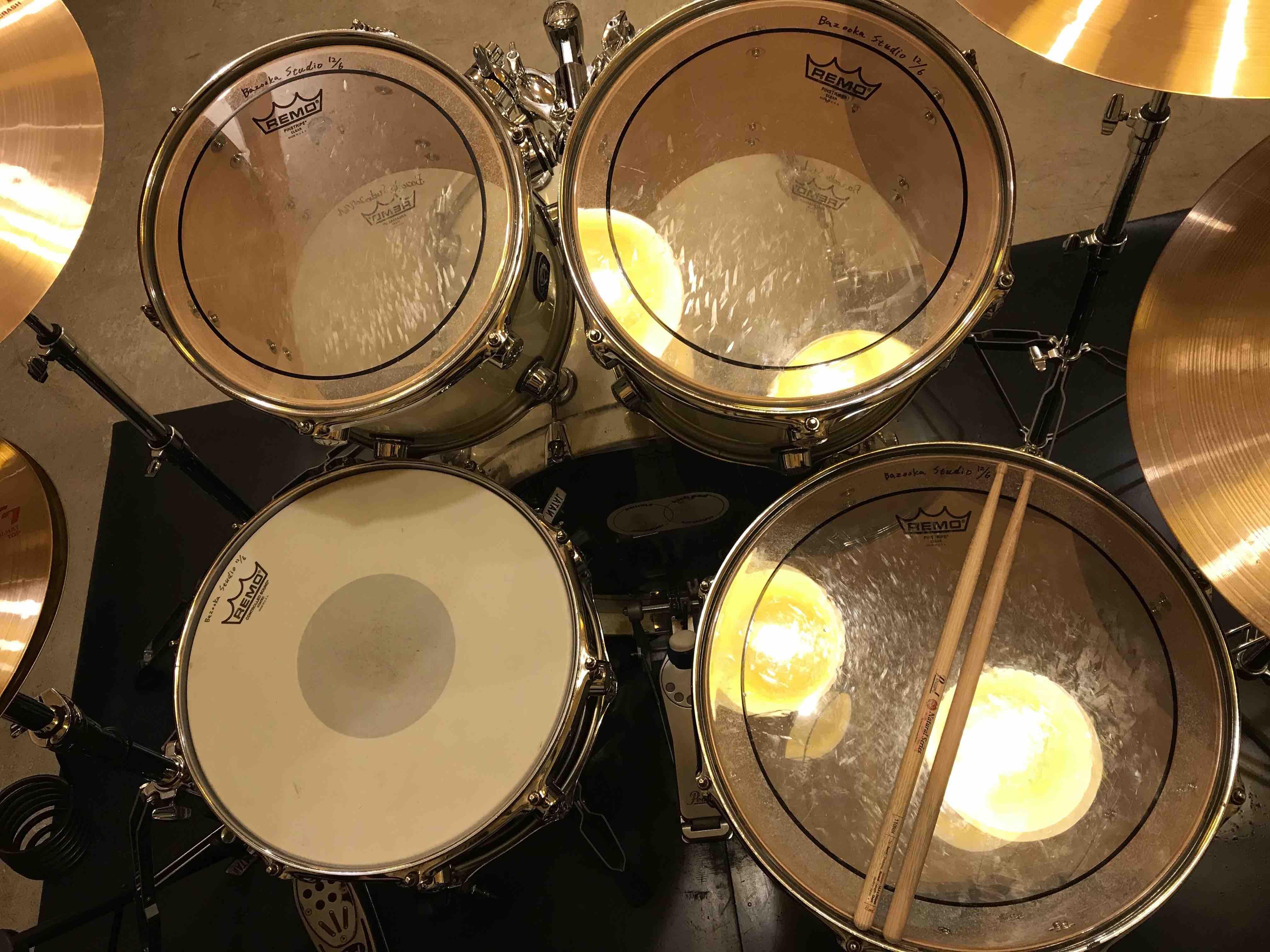 ドラム セッティング例4