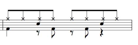 ドラム教室 8beat