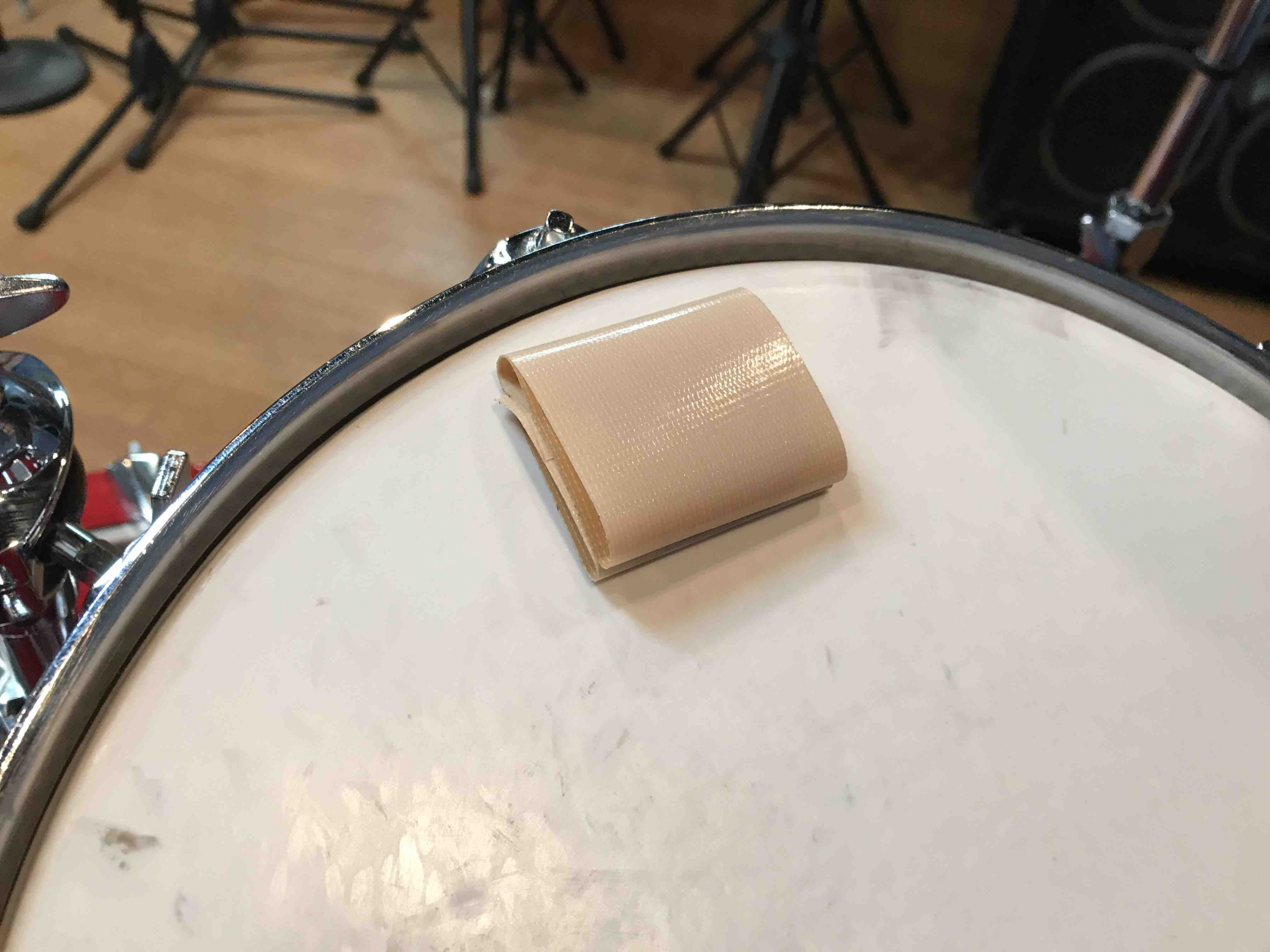 ドラムセット ミュートの仕方