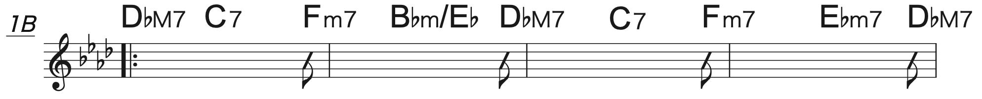 Pretender A♭コード楽譜2