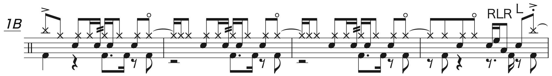 Pretender,ドラム完コピ楽譜2