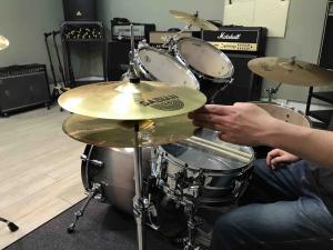 LiveArtドラム教室,ハイハットの開け具合