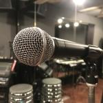 ボーカル教室、マイク