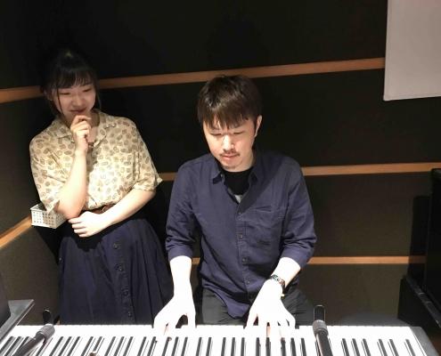 ピアノ教室day1