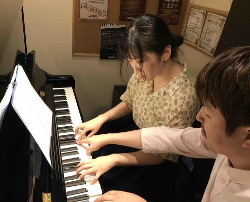ピアノ教室、day2