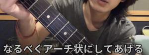 ギター,親指の位置1
