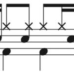 三原色,ドラム簡単楽譜4