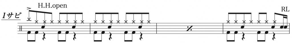 猫,ドラム簡単楽譜2,DISH//