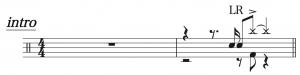 猫,ドラム簡単楽譜1,DISH//
