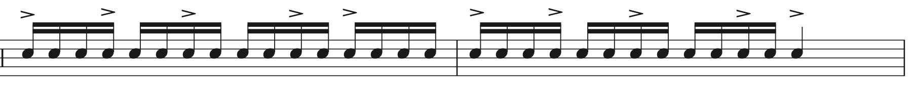 ドラムのストローク,活用法