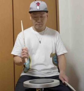 ドラムのフルストローク,悪い例